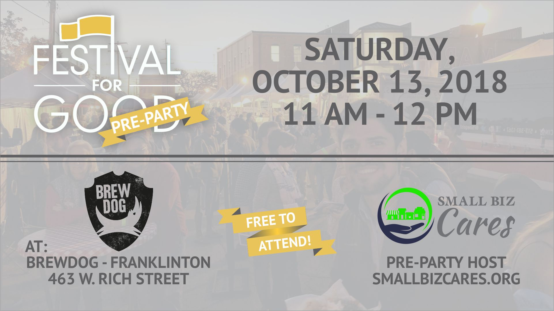 Small Biz Cares Columbus Ohio Event Party