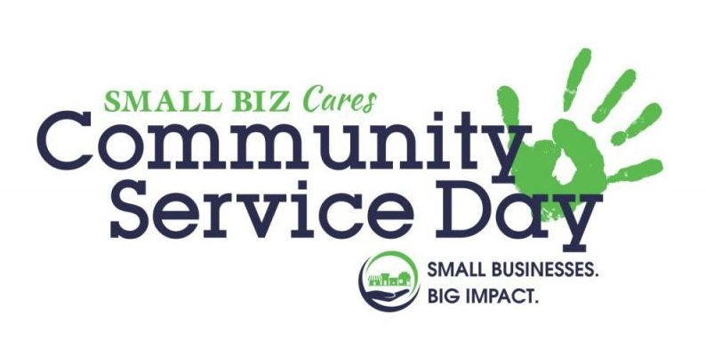 Small Biz Cares Columbus Ohio nonprofit volunteering community service day small business