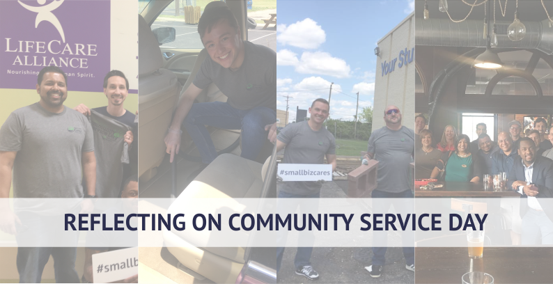 My Reflection On Small Biz Cares Community Service Day