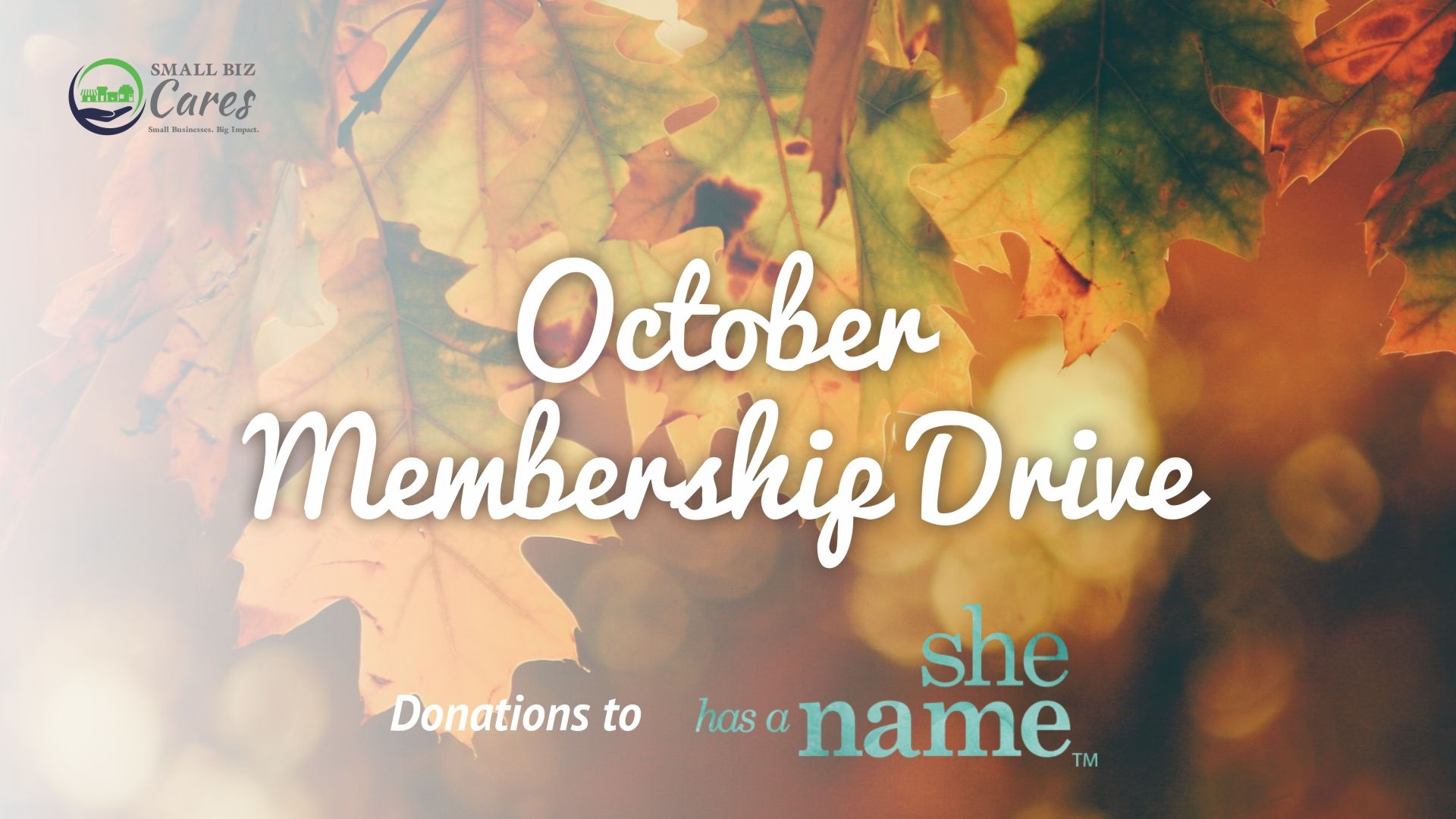 October Membership Drive
