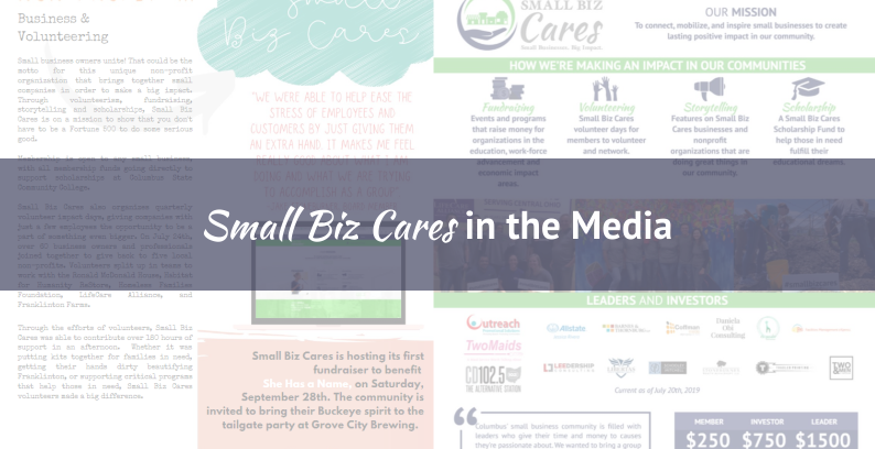 Small Biz Cares Featured In The Media