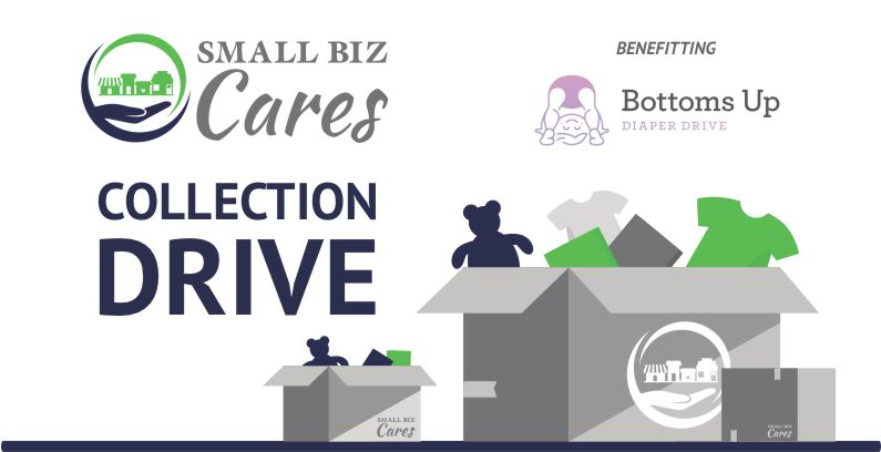 Small Biz Cares Diaper Drive For The Month Of March
