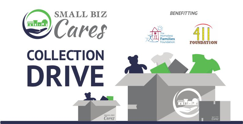 Collection Drive For Homeless Families Foundation And 411 Foundation