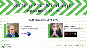 Getting Your Mind Right - Virtual Event